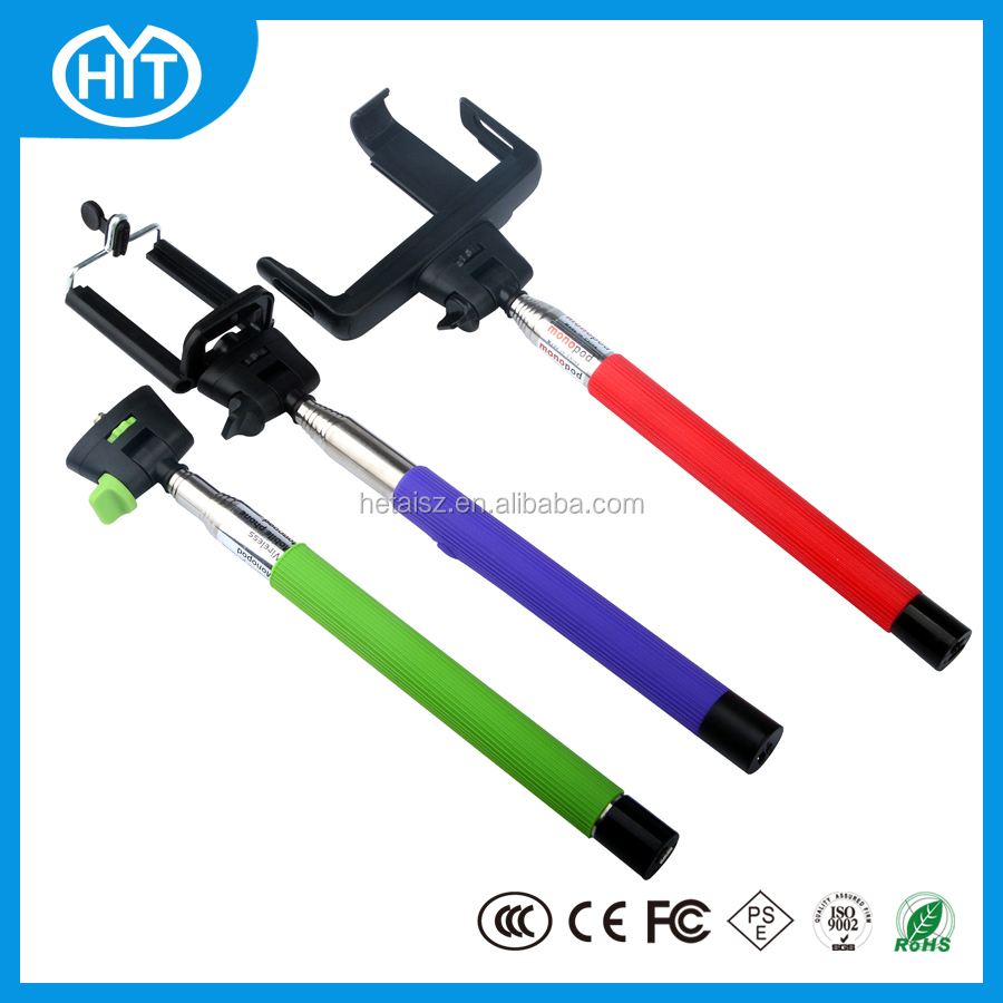 wireless selfie stick with logo selfie stick with bluetooth shutter buy p. Black Bedroom Furniture Sets. Home Design Ideas