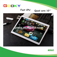 Factory price 9.6 Inch MTK6582 2G/3G Phone Call tablet pc android 4.4 IPS Screen 1280x800 tablet