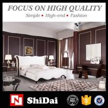 Últimas cama doble diseña muebles / más reciente dormitorio diseños de muebles / latest cama diseños B9025