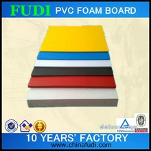 2015 colored new high density pvc foam products , pvc sheets