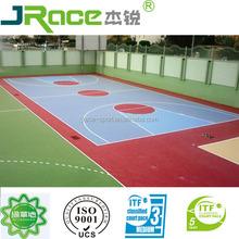 seamless outdoor flooring mat for basketball court