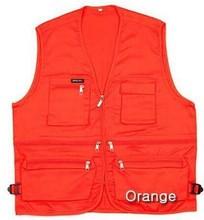 China Alibaba Mesh Fabric Mutiple Pocket Fishing vest