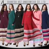 MD 20018 Fashion long dresses for women islamic Beautiful silk dresses for women New style islamic women wedding dresses