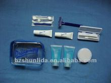 eight articles disposable travel kit