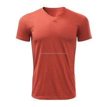 hot sale fashion unisex blank bulk v-neck t shirt