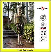 Promotion women camouflage shorts