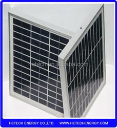 high efficiency 12V 10W polycrystalline pv solar panel price