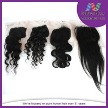 Newness 2014 new arrival hair new style remy lace closures