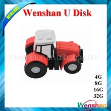 Paypal accepted cartoon tractor shape USB Flash with music MP3 free download