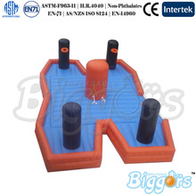 Inflatable Basketball Goal Bungee Trampoline Sport Games For Match