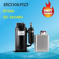 mini r134a boyard 24 volt air conditioner ac compressor for mobile crane van air conditioner