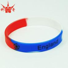 Custom eco-friendly football silicone wristbands for sport