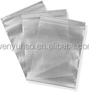 double track reclosable zip lock bag