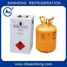 R600A Refrigerant Cylinder ISO Butane Refrigerant Gas