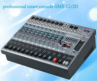 Lane latest professional audio power amplifier mixer GMX-12/2D12 channels professional with USB SD MP3 avaiaudio dj mixer