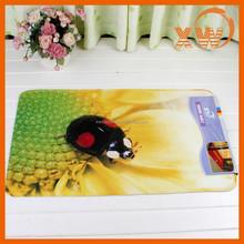 2015 new most popular hot selling printed funny bath mat