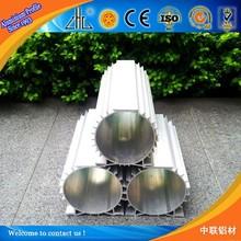 22 anni in fabbrica esperienza produzione tubo di alluminio per il radiatore/alluminio profilo di alluminio industriale fornitore tubo