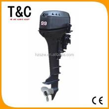 small petrol 246cc 2 stroke 9.9 hp small 9.9hp wholesale outboard motor