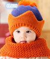 New baby/los niños sombrero delinvierno& pañoleta( cl029)