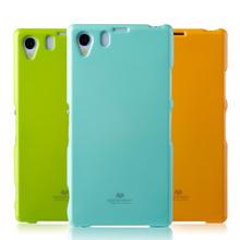 Low MOQ Stock Goospery TPU Jelly Back Cover Case for Sony Xperia Z1 L39h