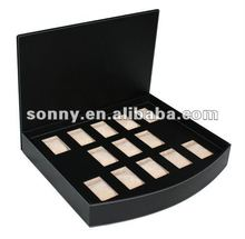 Other Styles Black Leather Watch Box