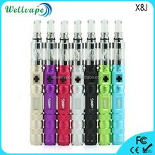 Colorful variable voltage strong vapor X8J e cigarette hong kong