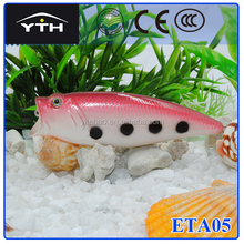 ETA05 New design top selling resh popper lure ,can be customized fishing lure