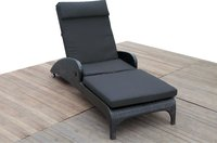 Outdoor Furniture Rattan Sun Lounger Chair