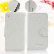 Cheap with hot selling wallet flip leather case for iphone 3gs