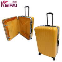 Hard Strong Durable Rose Color Hard Plastic Travel Case