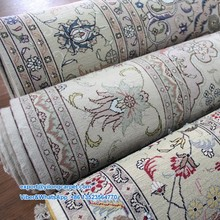 Wholesale Handmade Hand Knotted Persian Wool and Silk Rug