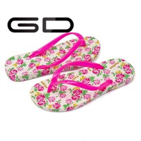 ODM & OEM Fancy Nude slingback Women Beach Indoor Flip Flops slippers