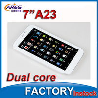 Bulk wholesale 7'' google android 4.2os boxchip Allwinner A20 A23 dual core super smart tablet pc