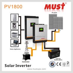 China factory, pv solar inverter inbuilt solar controller charger off grid solar inverters 1KVA to 5KVA /24V 48VDC to 230vac