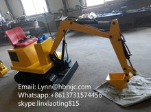 Excavator learning machine