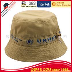 solid color girls' free pattern children bucket hat