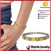 Switzerland women and men popular gold nuggets bracelet
