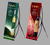 Advertisement product of customized X banner display stand