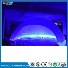 cheap air dome tent big inflatable advertising tent with led price