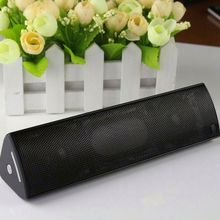 Portable metal shell wireless stereo bluetooth speaker for PC/smart phone/MP3/MP4 with audio jack port
