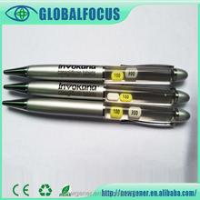2015 Shenzhen Promotional Pen PVC Liquid Pen