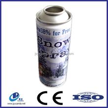 Party string color aerosol tin can/ string snow spray Cans