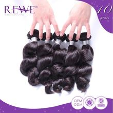Customization Natural And Beautiful Silk Thai Best Selling Human Hair Weave Shimmers