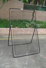 Youth Pitch Back Rebound Net Baseball Softball Ball Training Sports Target Zone