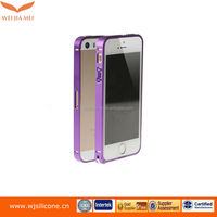 diamond metal bumper case for iphone 5