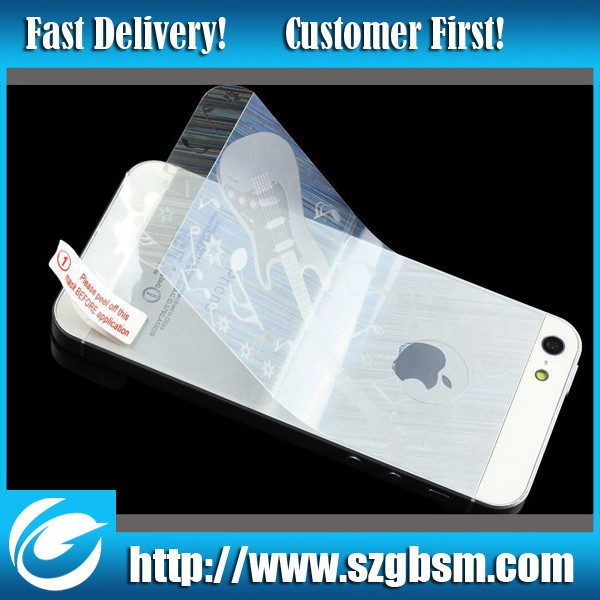 Factory directly supply anti-radiation cell phone screen protector with design screen protector cutting machine