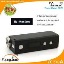 Wholesale price excellent quality electronic cigarette vaporizer mods new products 60w ecig vw mod