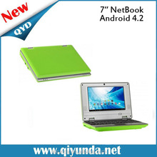 """2015 newest 7"""" mini netbook android, Ethernet 10/100Mbps Web Access VIA 8880 Dual-Core netbook"""