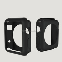 Slim Silicone Gel TPU Case Cover For Apple Watch Sport 42mm , case For Apple Watch Edition 38mm