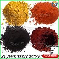 Best price 95% iron oxide hydroxide black pigment and yellow ceramic powder for paint/pavers/bricks/oxidized bitumen coloring